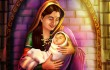 baby shivaji with jijabai by Shilpa Bhoir